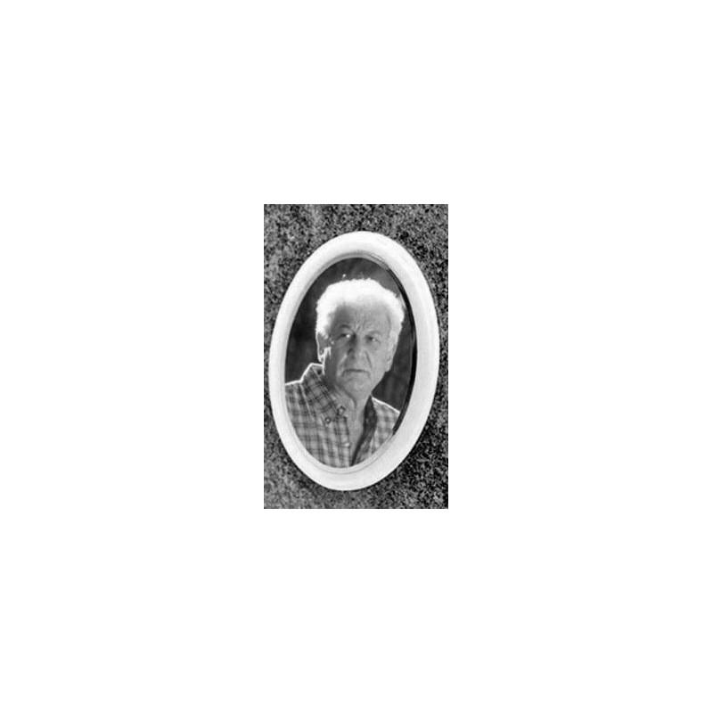 Photo porcelaine Noir/Blanc 9x12CM Accessoires - Plaque tombale pas cher