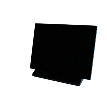 PLAQUE 30 X 40 AVEC SOCLE GRANIT NOIR FIN Plaques Funéraires Personnalisées en Marbre ou Granit - Plaque tombale pas cher