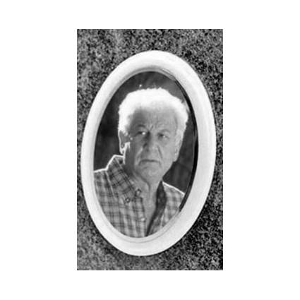 Photo porcelaine Noir/Blanc 8x10CM Accessoires - Plaque tombale pas cher